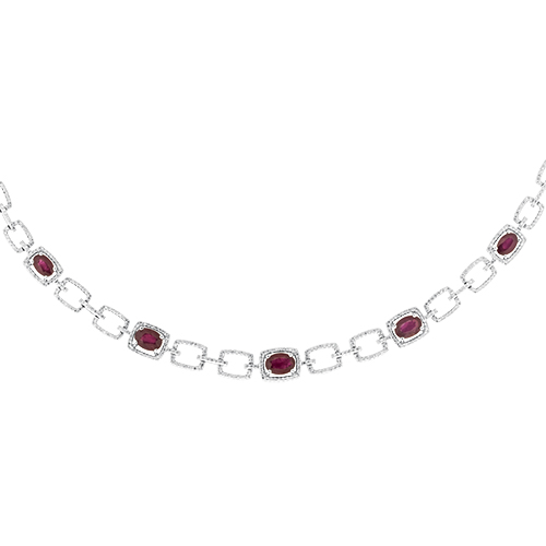 View Ruby & Diamond Necklace