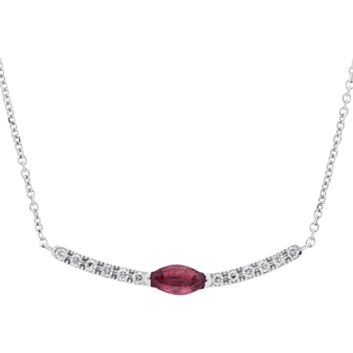 View Diamond & Ruby Necklace