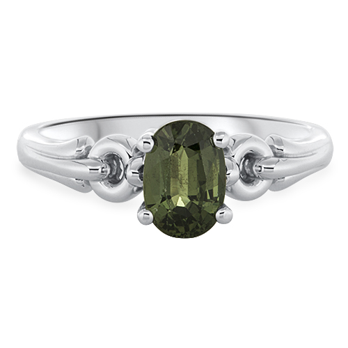 View Green Sapphire Ring